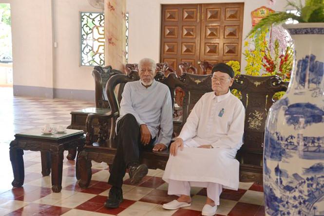Tài tử của Hollywood -  Morgan Freeman đến thăm Việt Nam