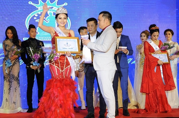 Á hậu tại Ms Vietnam Beauty International Pageant 2018 là Trần Ngọc Ánh