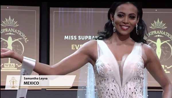 Hoa hậu Mexico chọn trang phục của NTK Việt tại 'Hoa hậu Siêu quốc gia'