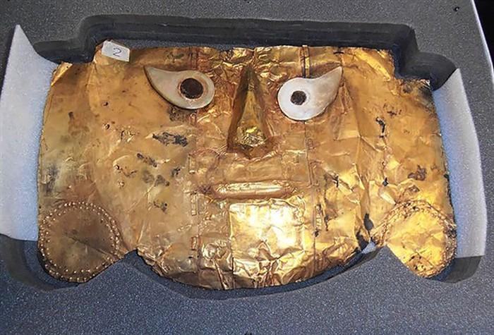 Peru giành lại mặt nạ vàng 1000 tuổi
