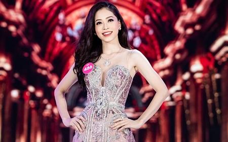 Á hậu Phương Nga dự thi Hoa hậu Hòa bình Quốc tế 2018
