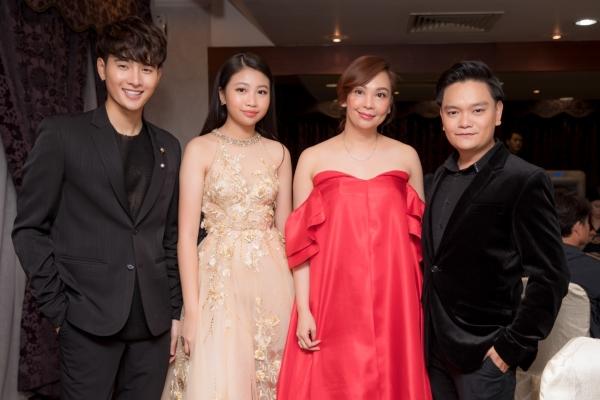 Diễn viên Trịnh Tú Trung hội ngộ Hồng Kim Bảo tại Liên hoan phim Malaysia