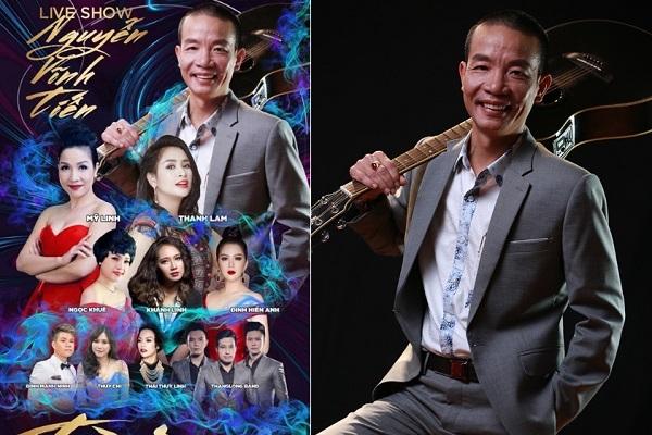 Nhạc sĩ Nguyễn Vĩnh Tiến và liveshow 'Tiền Duyên'