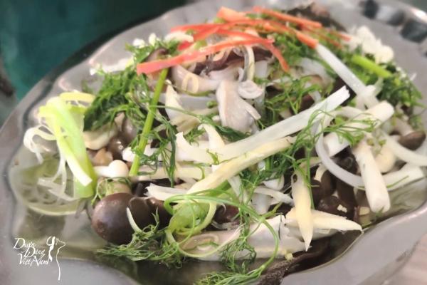 Ăn thuốc sống khỏe (kỳ 14): Bổ dưỡng hải vị chưng nấm