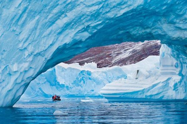 Băng tan kỷ lục tại đảo lớn nhất thế giới