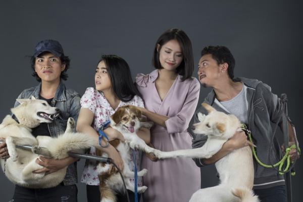 Bi hài chuyện chó… đóng phim