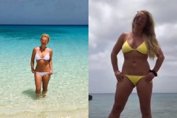 Britney Spears đi du lịch cùng mẹ