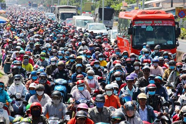 Việt Nam đạt hơn 96 triệu người, đông dân thứ 15 trên thế giới