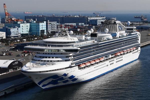Du thuyền 5 sao trở thành 'ổ dịch corona' lớn nhất ngoài Trung Quốc