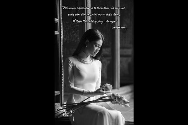 Duyên dáng quanh ta (Kỳ 19): Nếu muốn phụ nữ là thiên thần...