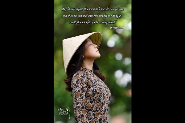 Duyên dáng quanh ta (Kỳ 33): Hãy là người để con gái bạn noi theo...