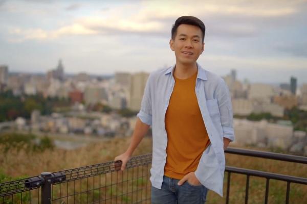 Hồ Trung Dũng tìm cảm hứng âm nhạcở xứ Phù Tang