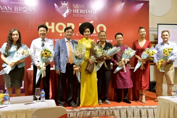 Hoa hậu Di sản Quốc tế tôn vinh ý thức giữ gìn di sản văn hóa toàn cầu