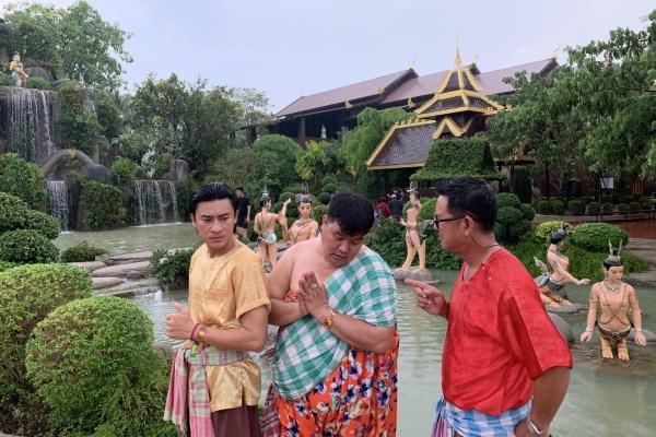 Hoàng Mập sang Thái Lan quay phim