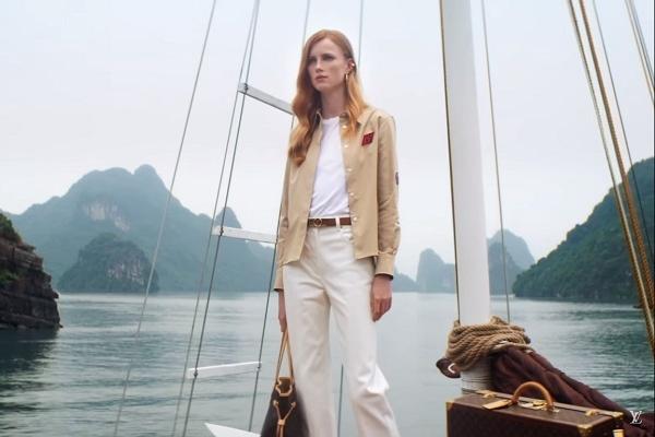 Hội An, vịnh Hạ Long xuất hiện trong clip của hãng thời trang danh tiếng