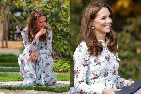 Công nương Kate Middleton đeo bông tai chỉ... 150 nghìn đồng
