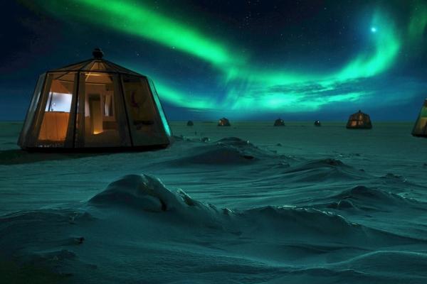 """Cơ hội trải nghiệm """"khách sạn di động"""" ở Bắc Cực"""