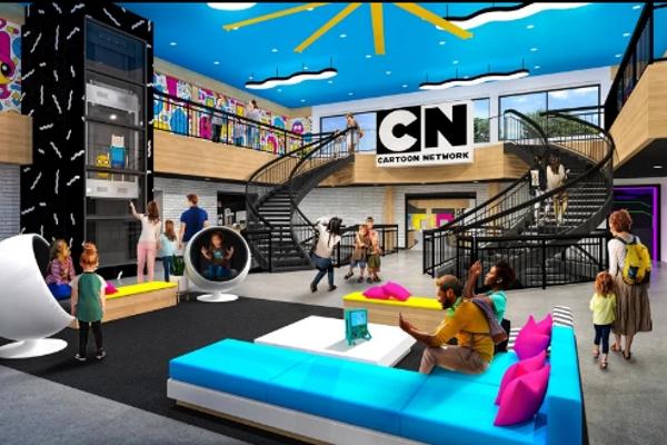 'Khách sạn trong mơ' dành cho fan phim hoạt hình