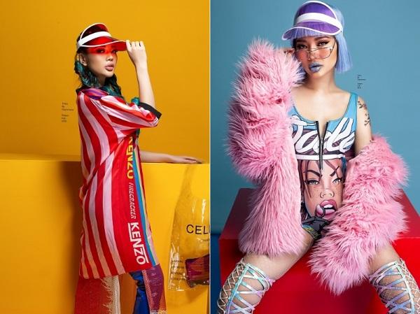 Miss Fashion Trang Lê táo bạo cùng sắc màu quyến rũ