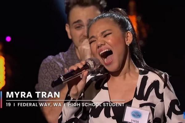 Myra Trần tiếp tục tiến sâu vào American Idol
