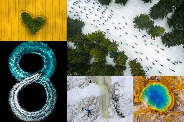 Ngắm những bức ảnh không trung tuyệt đẹp đạt giải Drone 2019