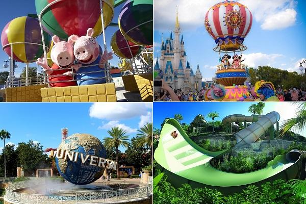 Công viên giải trí nào tốt nhất thế giới?