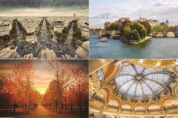 Paris là một trong những thành phố lãng mạn và thanh lịch nhất thế giới