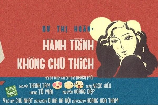 Nhà thơ Dư Thị Hoàn 'lối nhỏ' giao lưu cùng bạn đọc