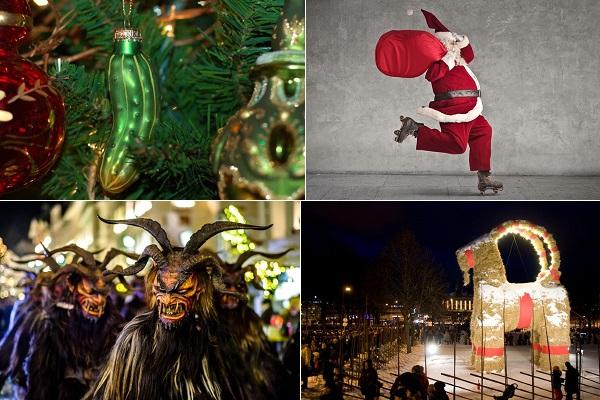 Những phong tục Giáng sinh kỳ lạ đến... kỳ quặc
