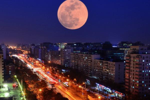 Ngắm siêu trăng đầu tiên của thập kỷ