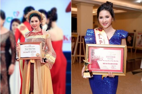 Thái Nhã Vân nhận 2 danh hiệu 'Ngôi sao tỏa sáng'