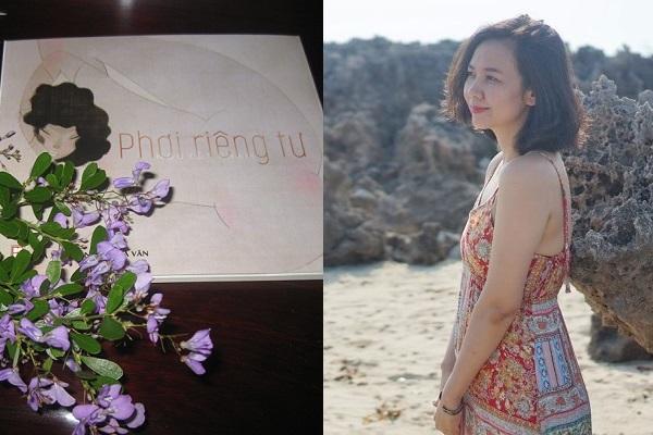 Nguyệt Phạm - Đóa hoa thơ long lanh khí chất