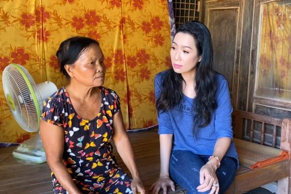 NSƯT Trịnh Kim Chi xây nhà tình thương cho người phụ nữ nghèo