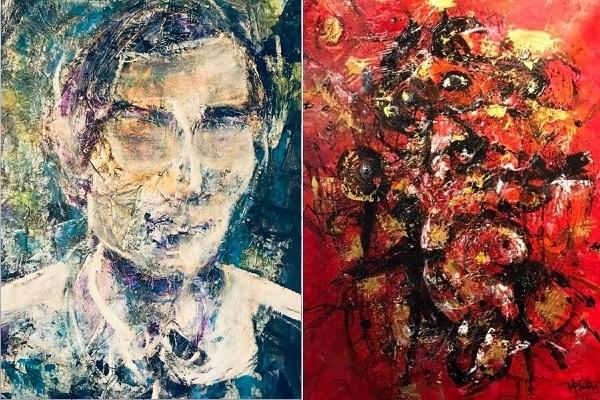 Vĩnh Phối và hội họa trừu tượng