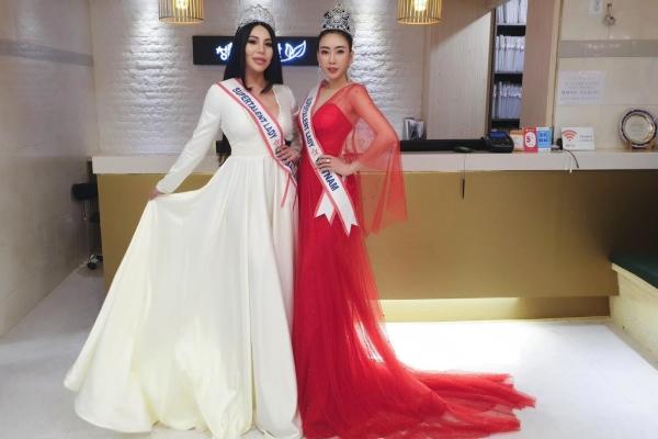 Võ Nhật Phượng xuất sắc lọt top 8 cuộc thi 'Miss Super Lady Of The Word'