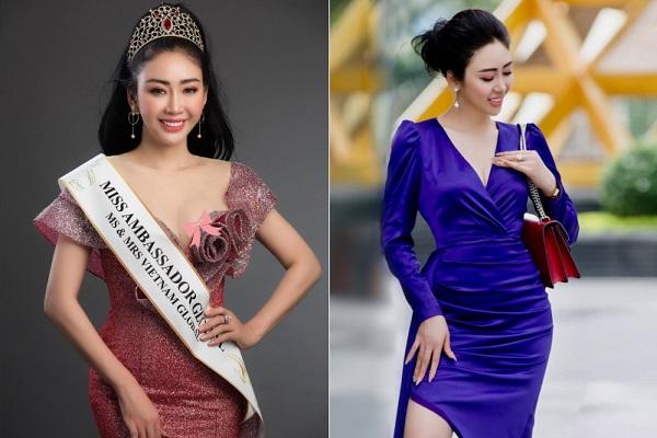 Võ Nhật Phượng đoạt giải Hoa hậu đại sứ toàn cầu