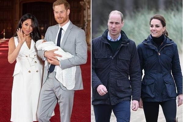Vợ chồng Công tước Sussex tách khỏi quỹ từ thiện hoàng gia