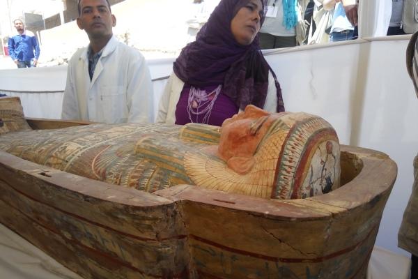 Phát hiện mộ cổ Ai Cập 3.500 năm tuổi