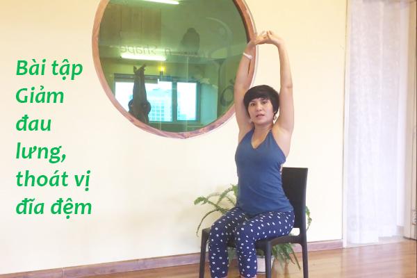 Sống khỏe (Kỳ 4): Giảm đau lưng, thoát vị đĩa đệm chỉ với... 1 cái ghế