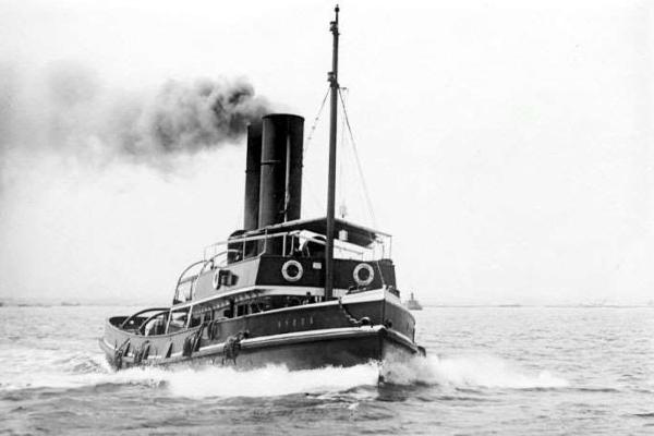 Phát hiện xác tàu hơi nước đắm cách đây 102 năm
