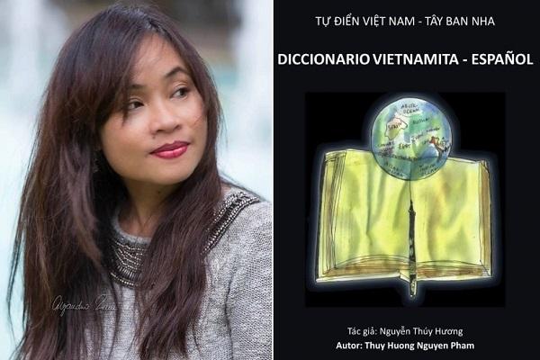 Nữ họa sĩ đầu tiên làm từ điển Tây Ban Nha - Việt Nam