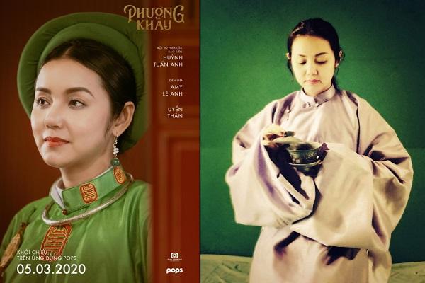Amy Lê Anh: Vai diễn trong Phượng Khấu là cơ hội lớn chạm ngõ điện ảnh