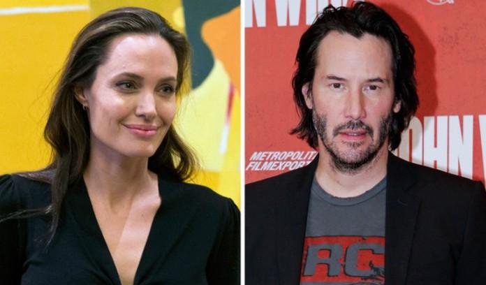 Rộ tin Angelina Jolie bí mật hẹn hò tài tử Keanu Reeves