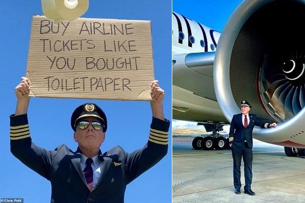 'Hãy mua vé máy bay như bạn đã mua… giấy vệ sinh'