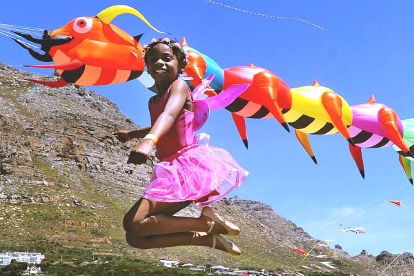 Ngộ nghĩnh Lễ hội diều quốc tế Nam Phi