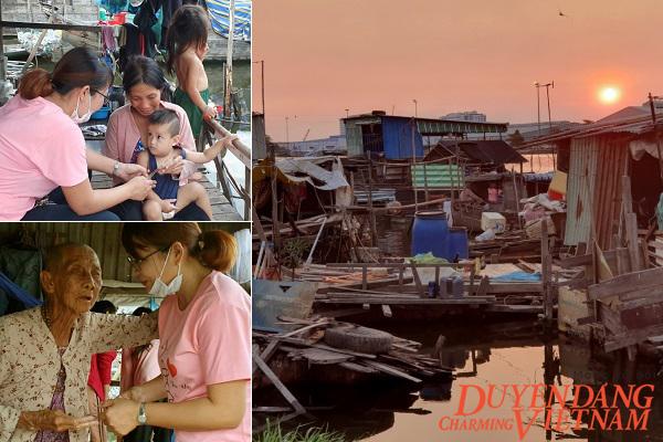 Xóm 'Việt kiều' nghèo mùa Covid-19