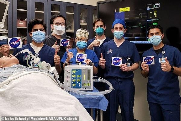 NASA cấp tốc chế tạo máy thở hỗ trợ bệnh nhân Covid-19