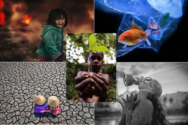 Những bức ảnh Trái đất bị tàn phá, rúng động người xem