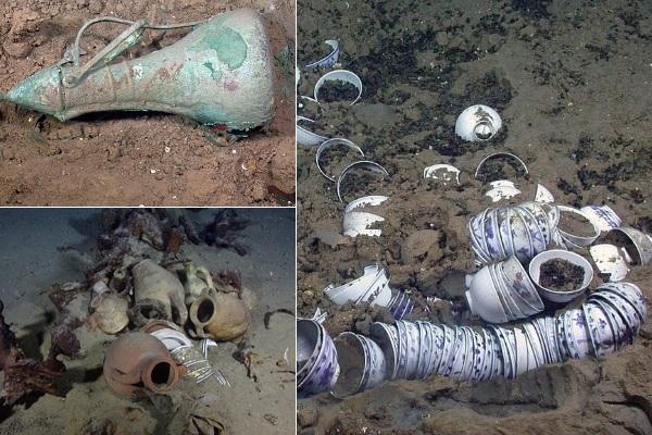 Nhóm phát hiện 'kho báu' Địa Trung Hải bị buộc tội 'khai quật bất hợp pháp'
