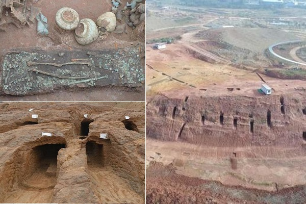 Xây công viên công nghệ, phát hiện hơn 6.000 ngôi mộ cổ